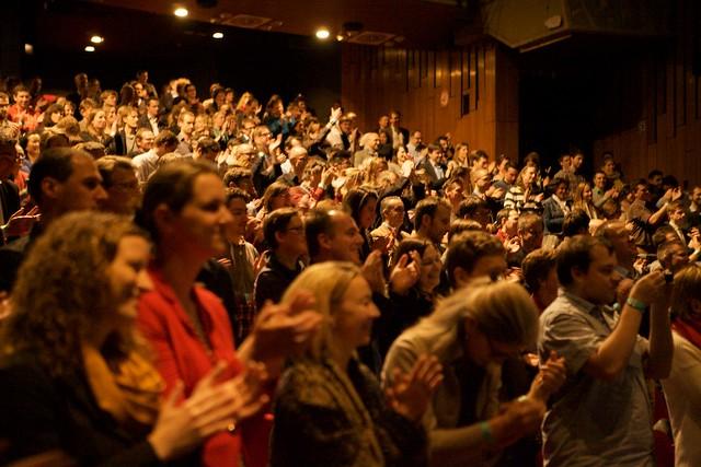 public satisfait de la qualité de la conférence